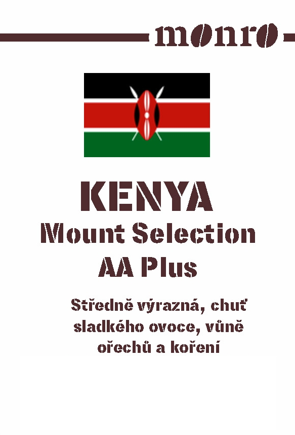 Káva Kenya Mount Selection