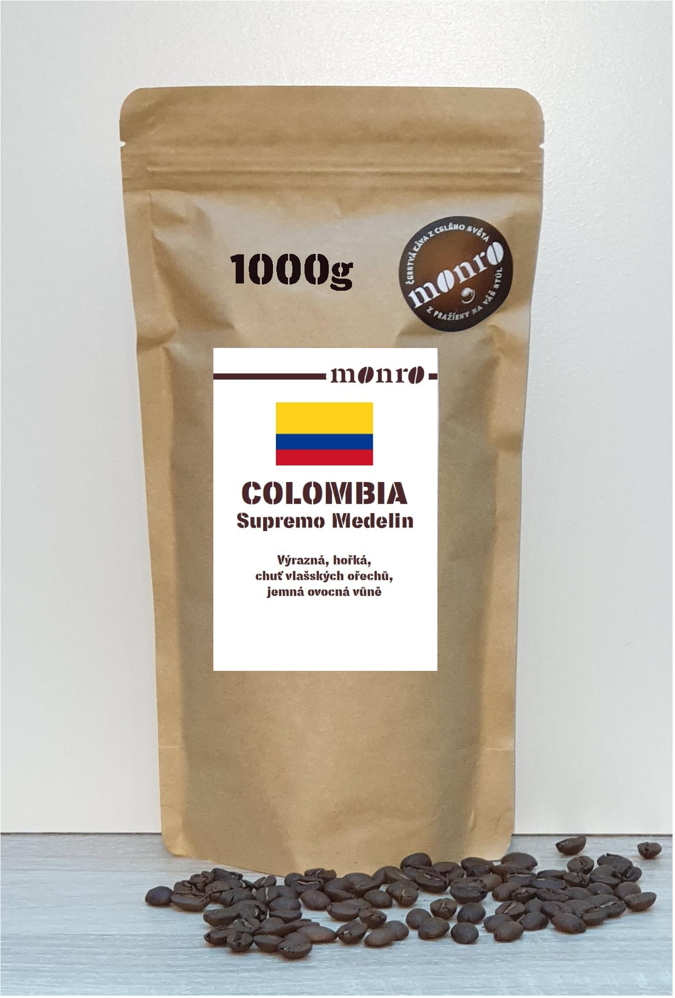COLOMBIA SUPREMO MEDELIN KÁVA ARABICA