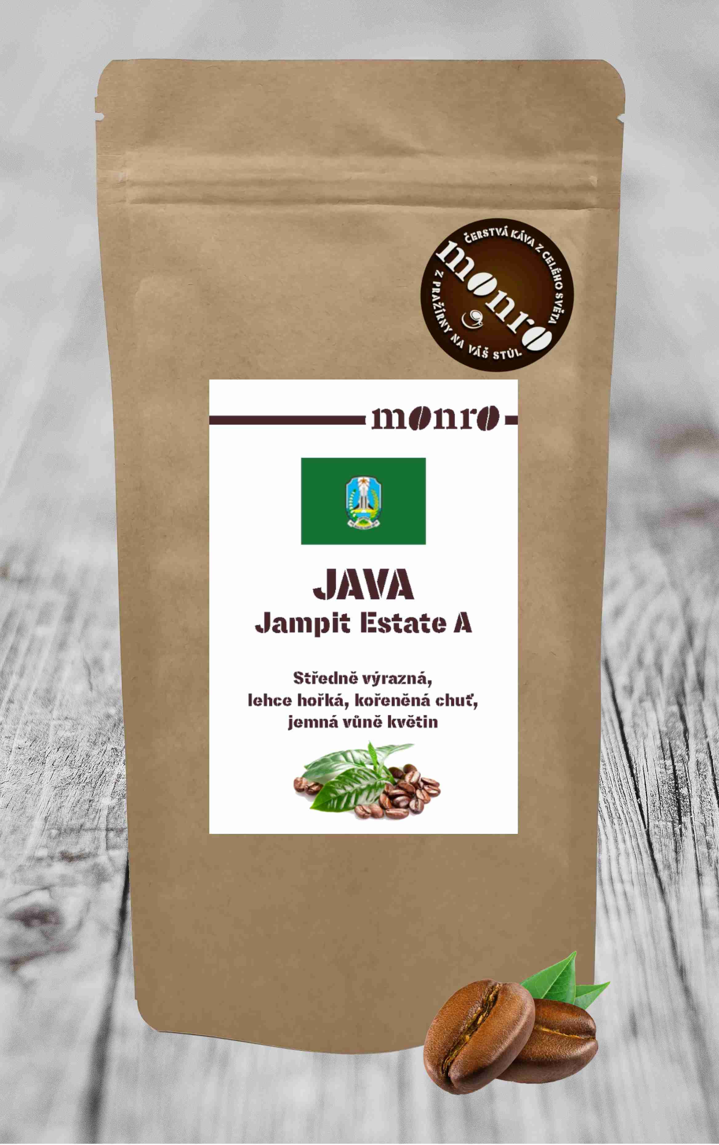 JAVA JAMPIT ESTATE A KÁVA ARABICA