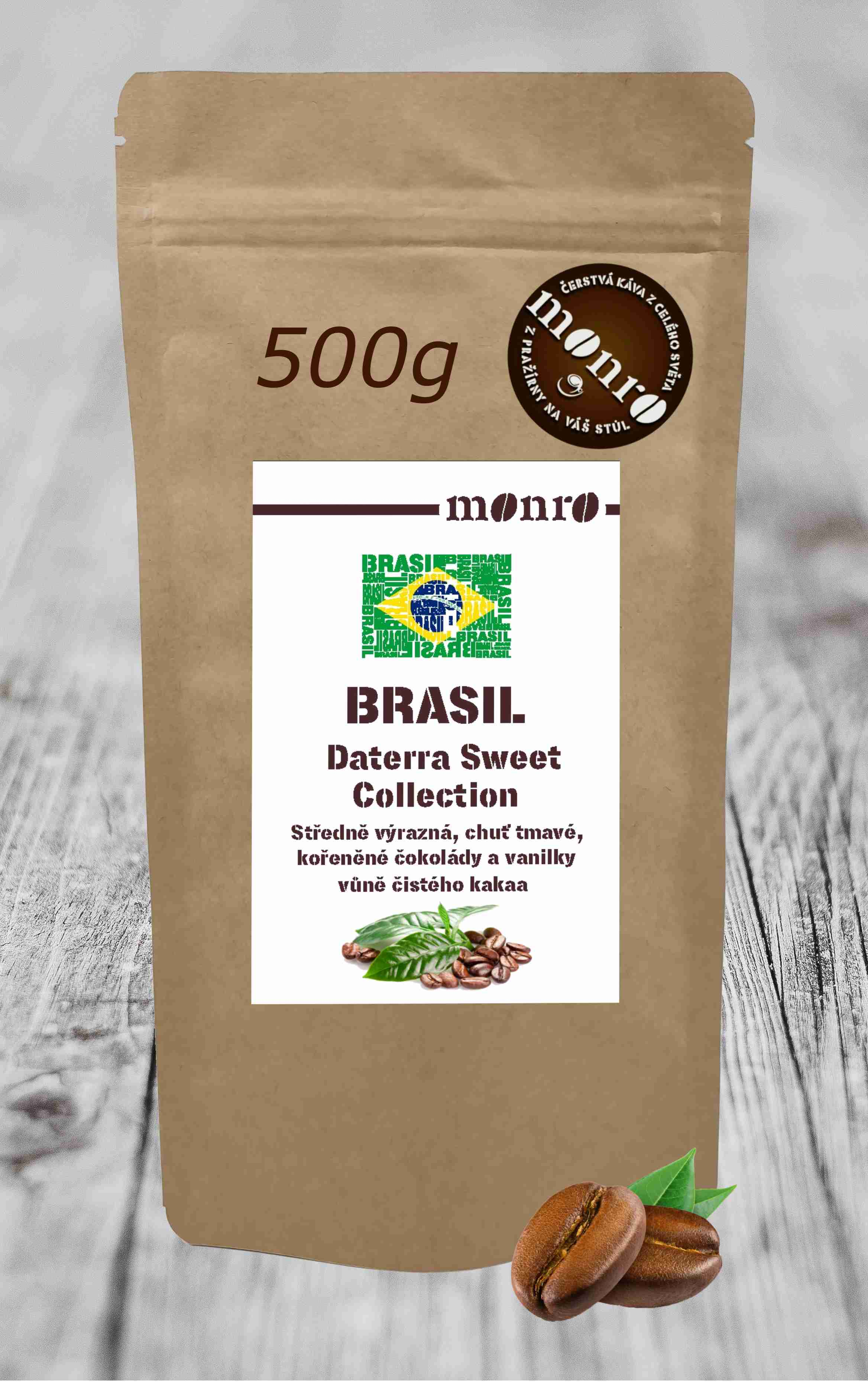 BRASIL DATERRA SWEET COLLECTION RFA CERTIFIED KÁVA ARABICA