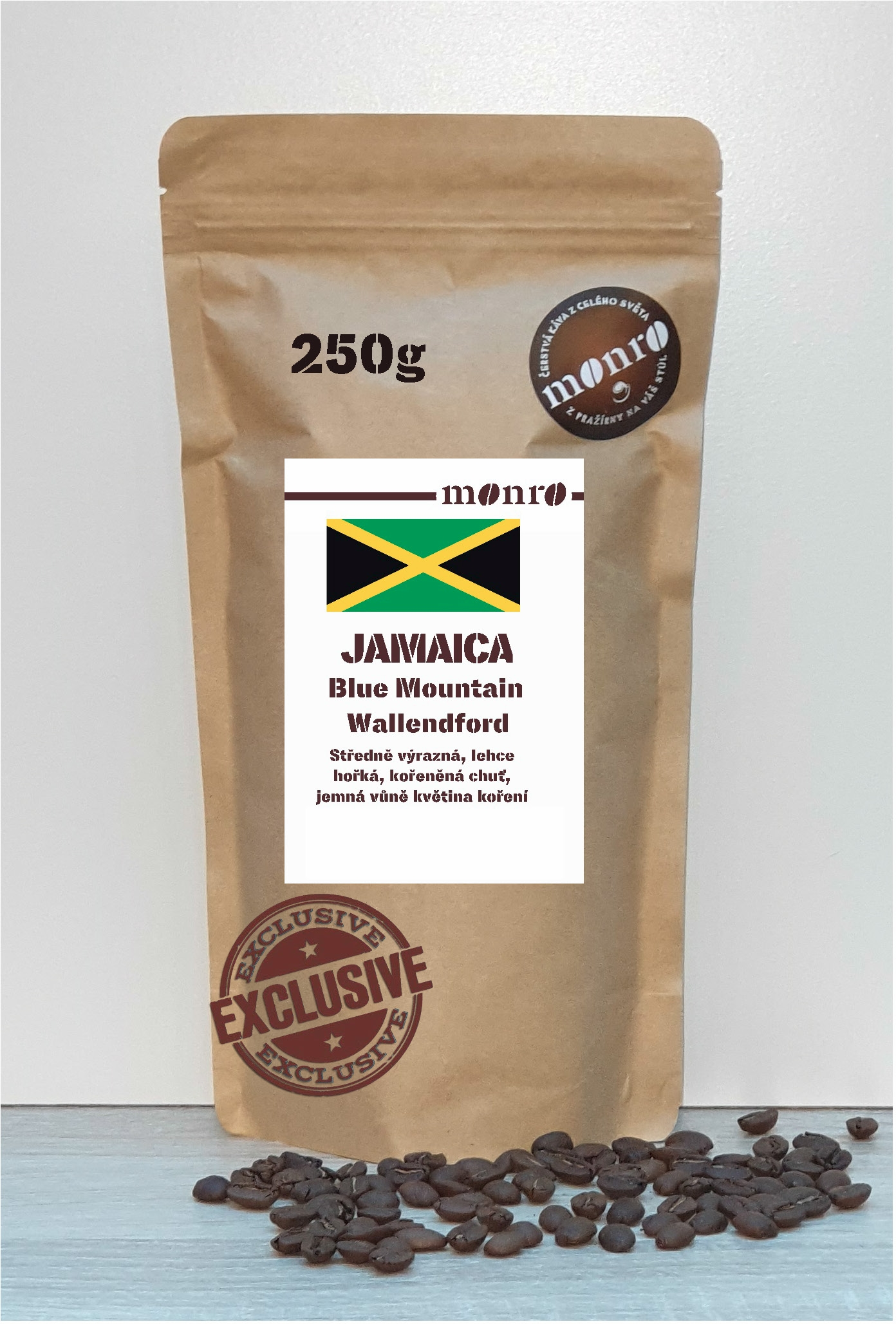 JAMAICA BLUE MONTAIN WALLENDFORD ESTATE KÁVA ARABICA