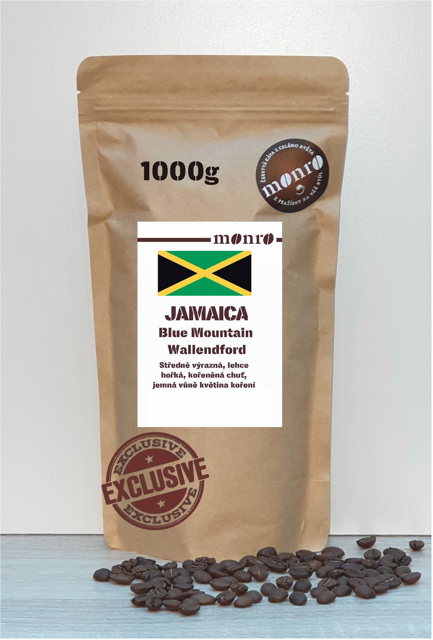 JAMAICA BLUE MONTAIN ESTATE WALLENDFORD KÁVA ARABICA