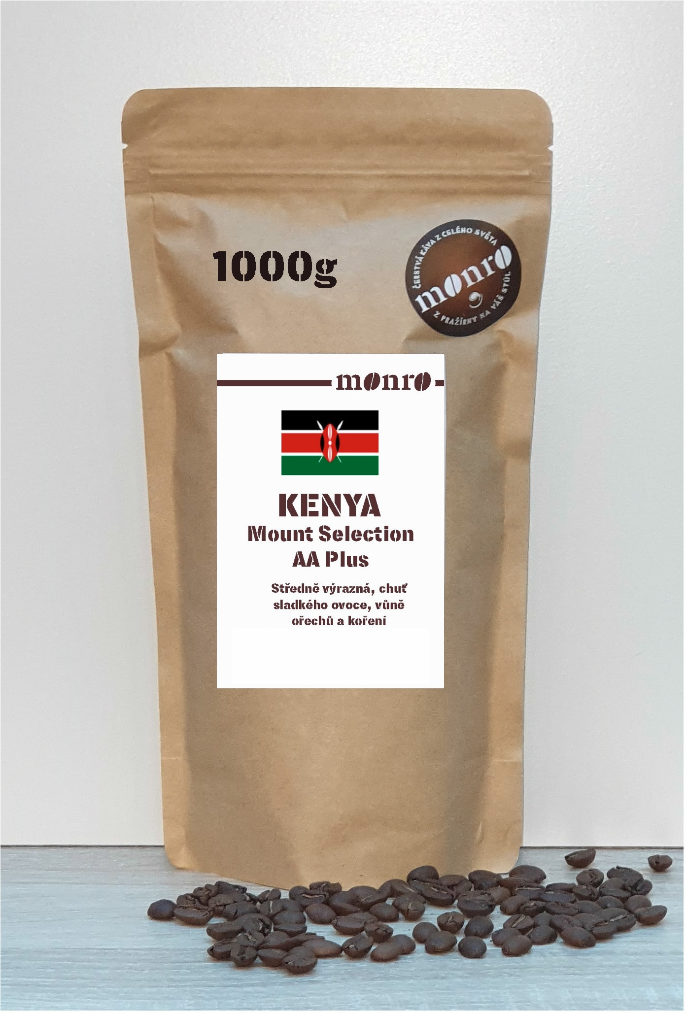 KENYA MOUNT SELECTION AA KÁVA ARABICA