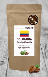 COLOMBIA EXCELSO MEDELIN KÁVA ARABICA